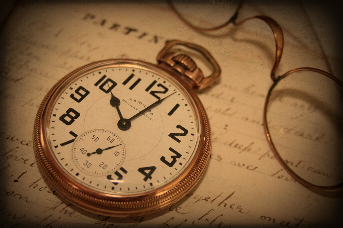Railroad pocket watch believed to have belonged to Leonard Ivy Young b.1843 d.1924